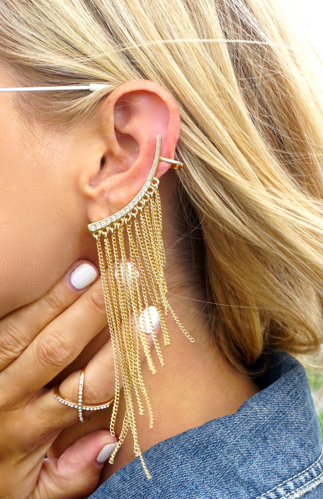 Ear cuff from Guess
