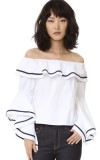 BLAZE OFF THE SHOULDER TOP